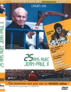 25 ans avec Jean-Paul II. Congrés Univ. DVD